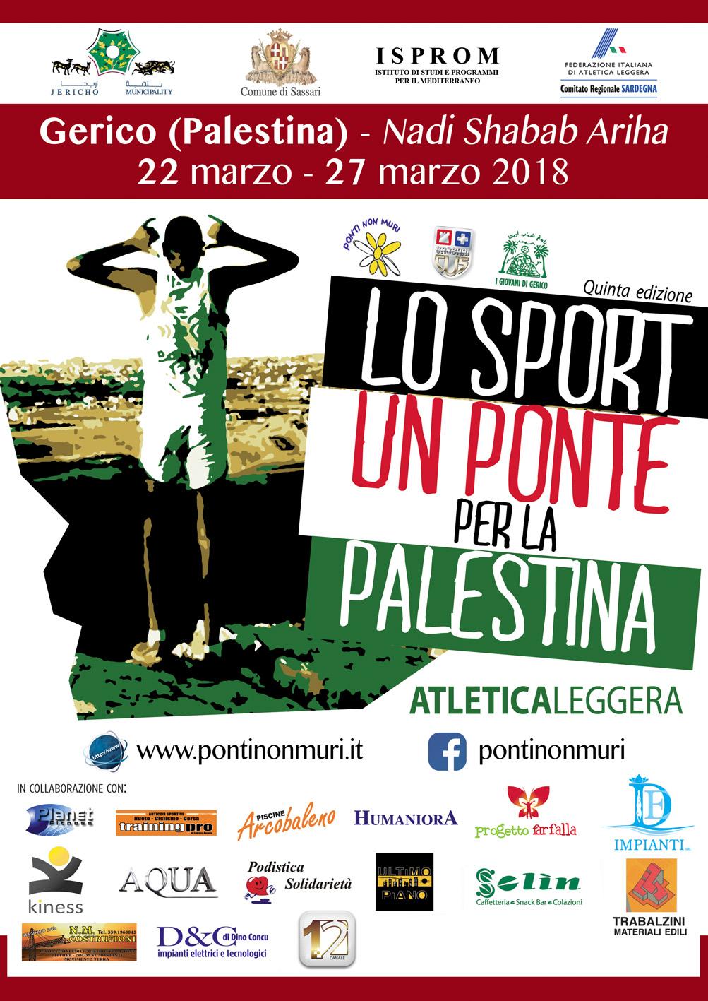 Lo sport: un Ponte con la Palestina