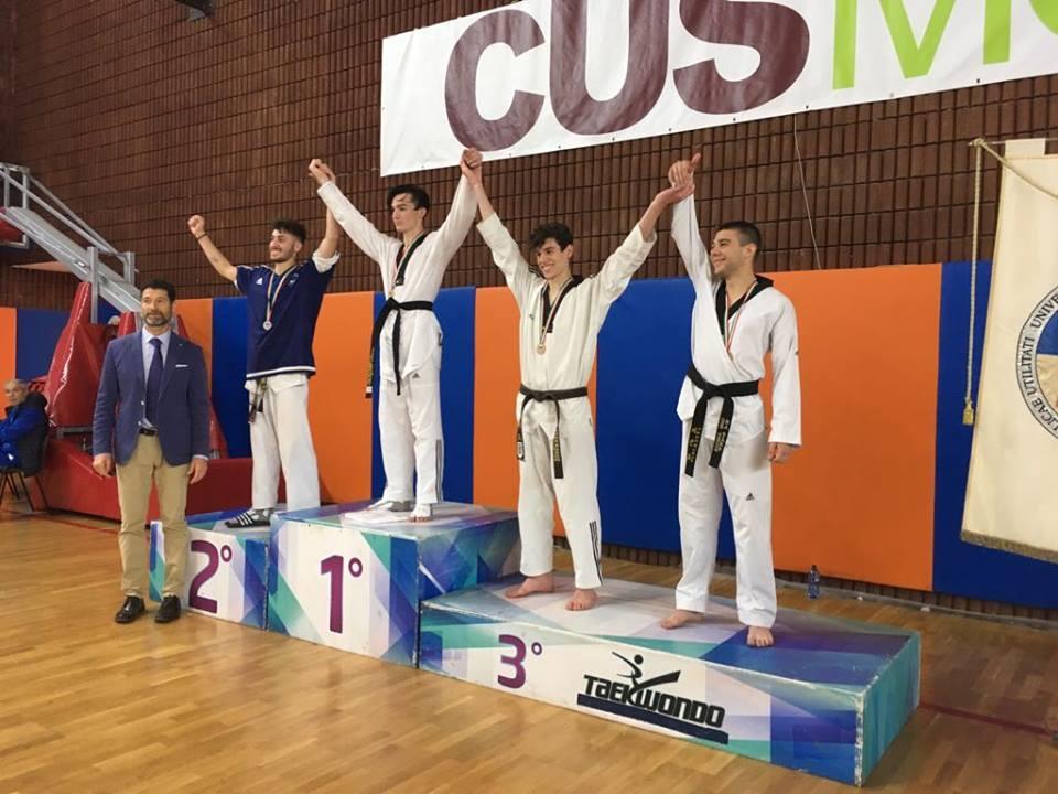 CNU individuali 2018: BRONZO nel TAEKWONDO