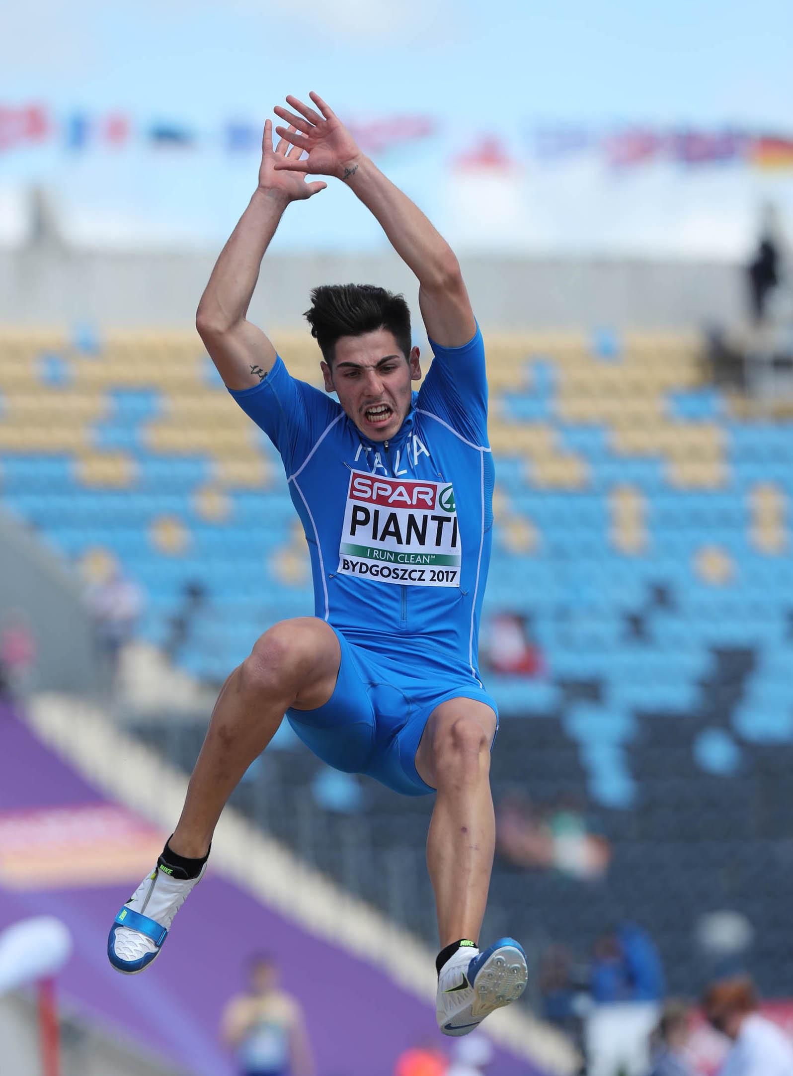 Il Cus Sassari partecipa alla 51esima edizione dei Campionati Italiani Assoluti Indoor (Ancona, 22-23 Febbraio) con Andrea Pianti.