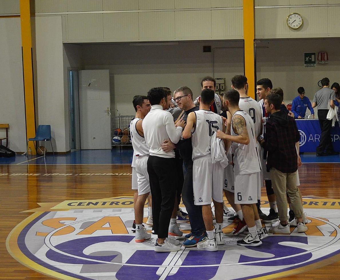 IL CUS SASSARI: per emergenza covid19 conclusa la stagione agonistica della pallacanestro.